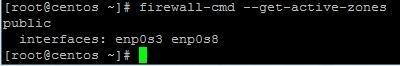 firewalld get zone
