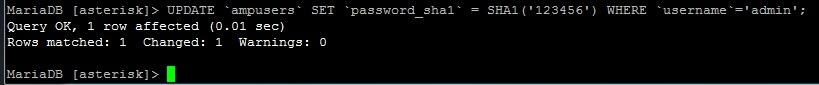 Сброс пароля администратора FreePBX - ВсеИТ рф
