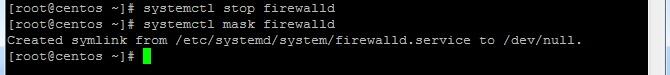disable firewalld centos7